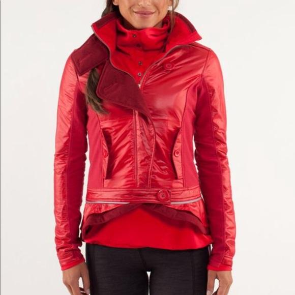 lululemon athletica Jackets & Blazers - Lululemon RARE Pedal Power jacket size 4